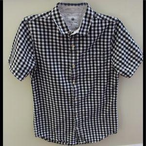 On the Byas gingham print shirt